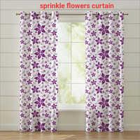 Sprinkle Flowers Curtain