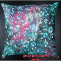 Gree Pink Blooms Cushion