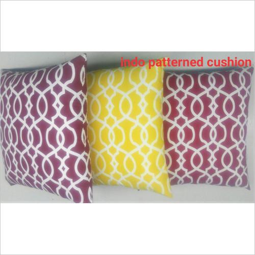 Indo Patterned Cushion
