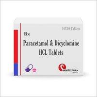 Paracetamol & Dicyclomine HCL Tablet