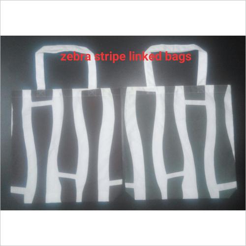 Zebra Stripe Lined Bags