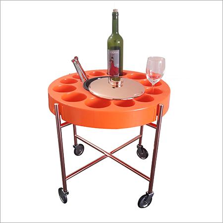 Wine Glass Trolley