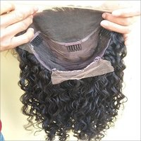 Front Lace Curly Hair Wig Swiss Transparent Lace