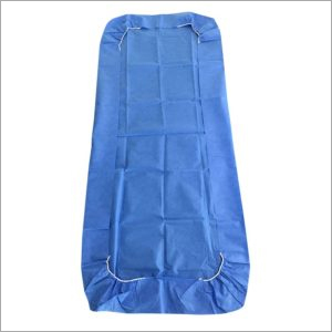 Hospital SMS Blue Bed Cover