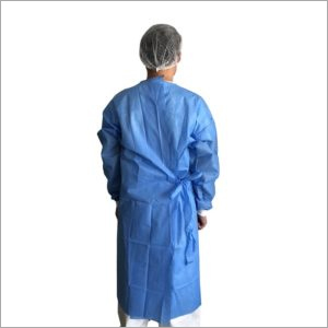 Four Strips Sms Surgical Gown