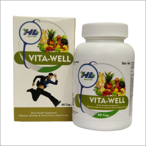 Ayurvedic Daily Healthy Supplement Vitamins Minerals And Amino Acid Capsules