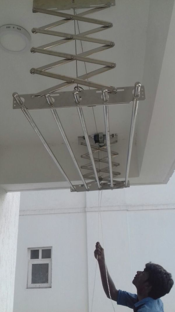 Ceiling Cloth Hangers Installation Service in Coimbatore