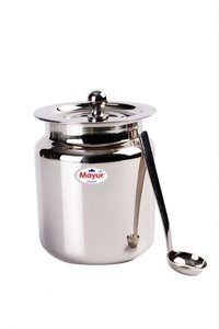 Stainless Steel Ghee Pot