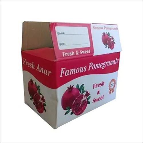 Pomegranate Printed Packaging Box