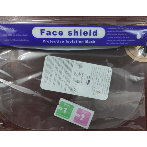 Safety Face Shield for Medical Use