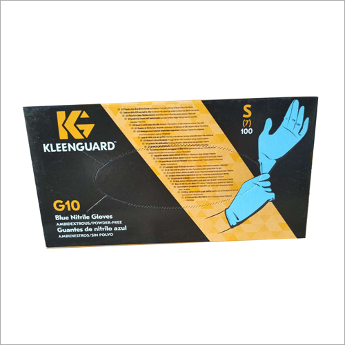 Blue Nitrile Gloves