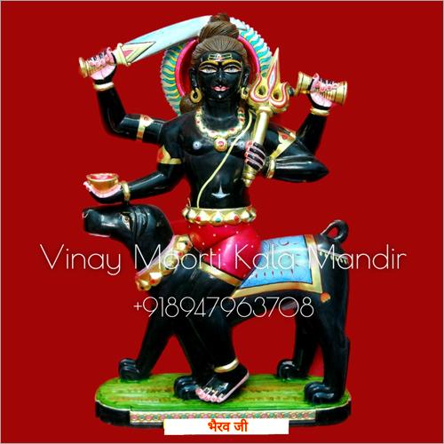 Bhairav Marble Statue
