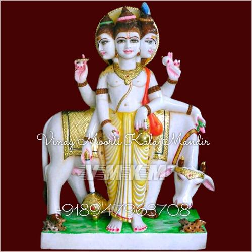 Dattatreya Marble Statue