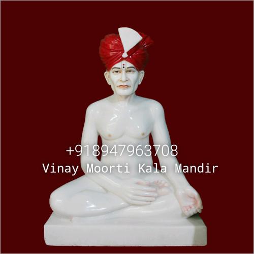 Gajanand Maharaj Marble Statue