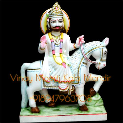 Makrana Marble Ramdev Ji Statue