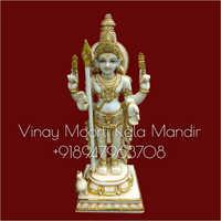 Murugan Swami Marble Statue