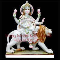 Nav Durga Marble Statue