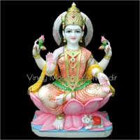 Lakshmi Ji Marble Statue