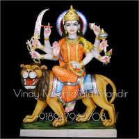 Makrana Marble Durga Ma Statue