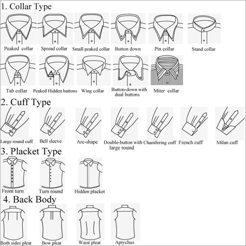 Collars & Cuffs Types