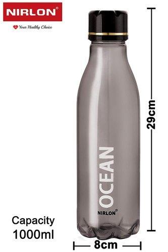 Nirlon Unbreakable 4 Piece Ocean Multi Color Plastic Bottle Set, Combo Set