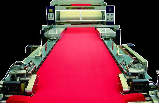 Blanket felt open width compactor for knit cotton fabrics