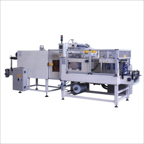 Automatic Shrink Wrapping Machine With Auto Collator