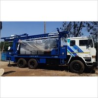 Brand new truck mounted drilling rig