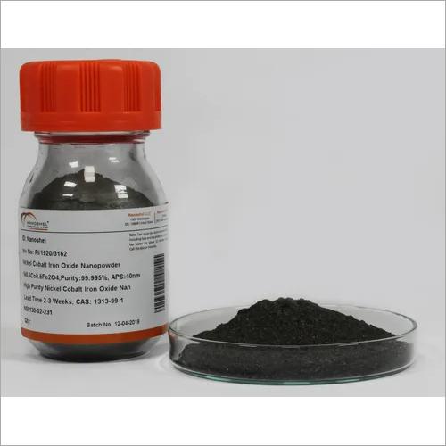 Nickel Cobalt Iron Oxide Nanopowder