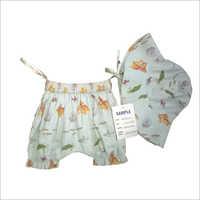 Fish Print Romper Suit