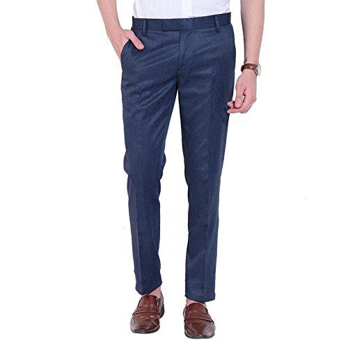 Men's Blue Trouser
