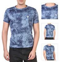 Sky Blue Round Neck T-Shirt