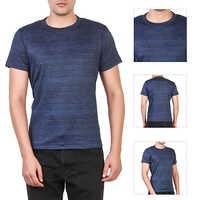 Navy Blue Round Neck T-Shirt