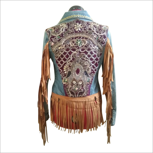 Ladies Fringe Jacket