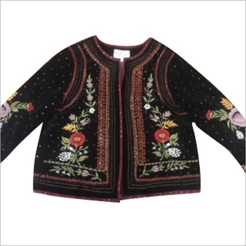 Ladies Red Beads Jacket