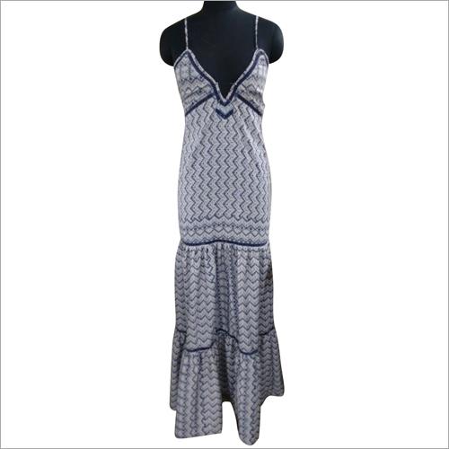 Poly Crepe Ladder Lace Dresses