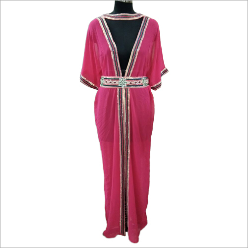 Ladies Jacket Type Kaftan Dress