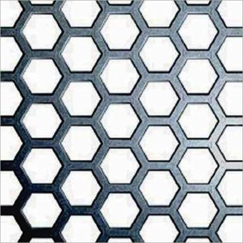 Hexagonal Hole Perforated Sheet