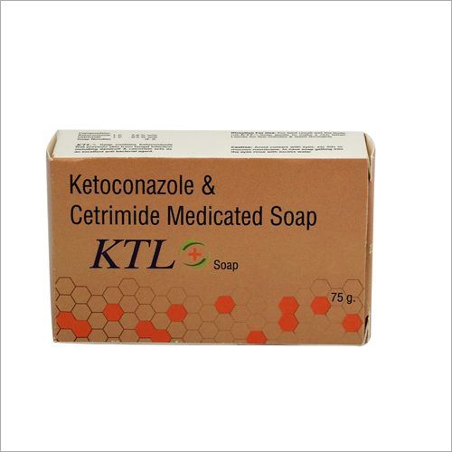 Ketoconazole and Cetrimide Medicated Soap