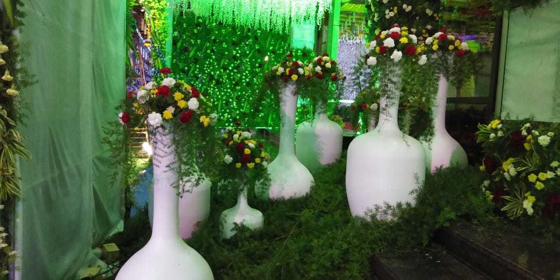 Fibre Flower Vase
