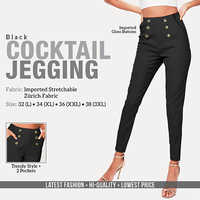 Black Cocktail Jagging