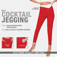 Red Cocktail Jagging