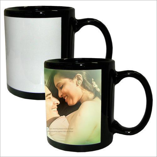 Black Patch Mug