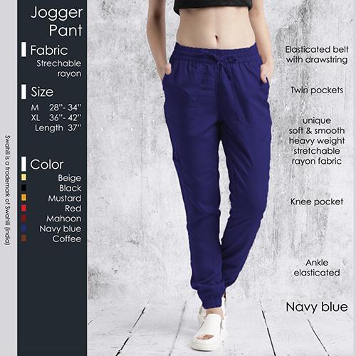 Blue Jogger Pant
