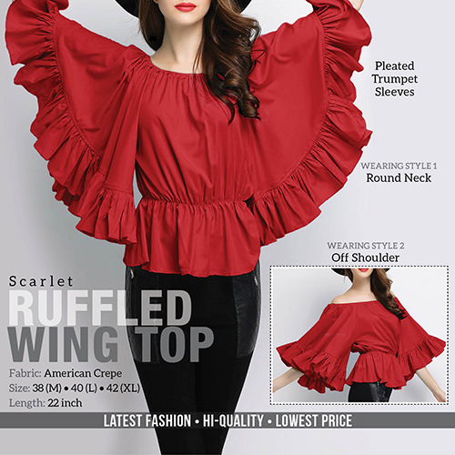 Ruffled Top