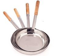Fry Pan SS with Wooden Handle 9