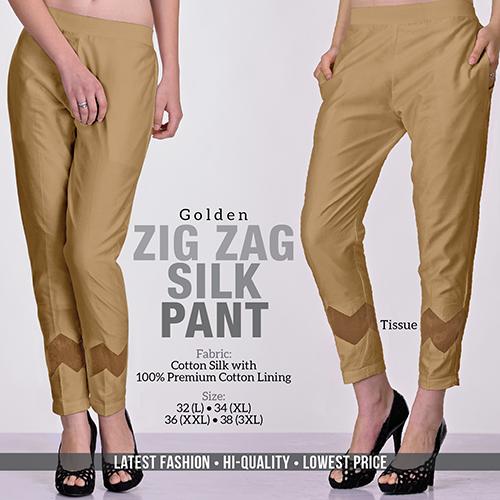 Golden Silk Pant