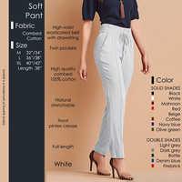 White Soft Pant