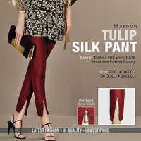 Maroon Tulip Pant
