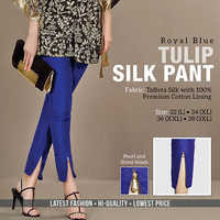Royal Blue Tulip Pant